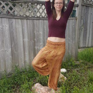 prayer fabric pants