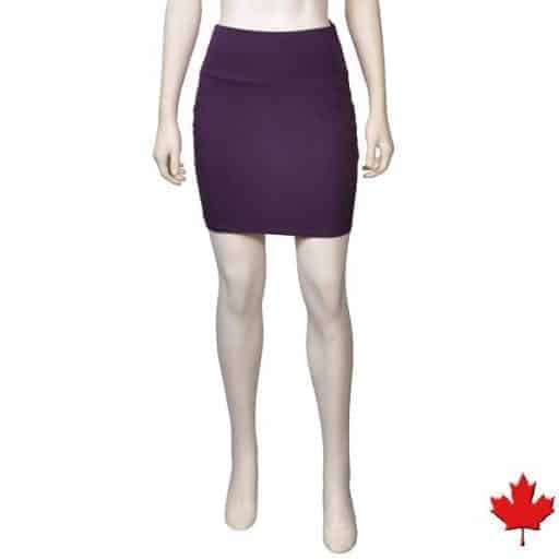 bamboo mini skirt made in Canada