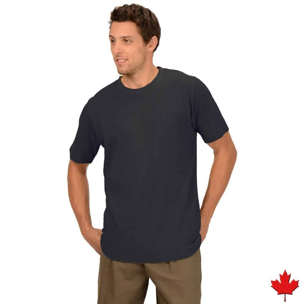 5d527bfd9c33 Men's Bamboo T-shirt Made in Canada S-XXL | TREE CHIC Eco Boutique