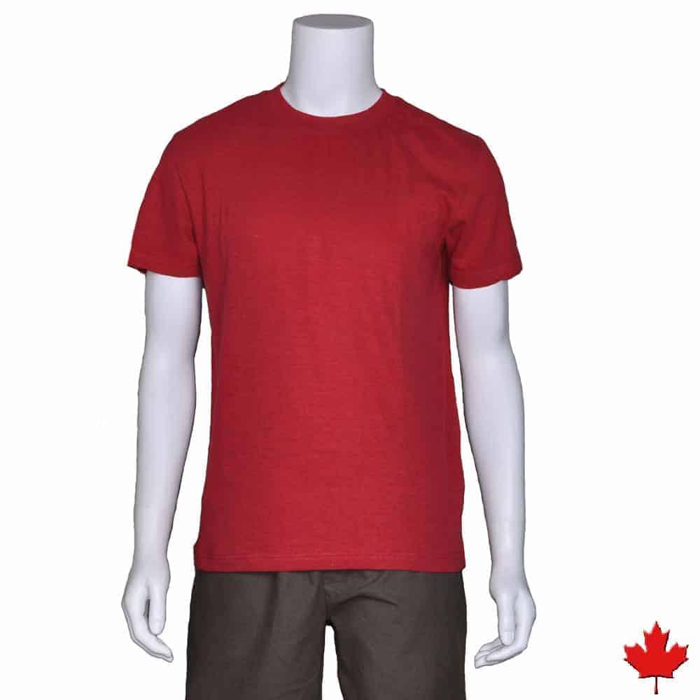 Men 39 s hemp t shirt proudly made in canada tree chic for Mens hemp t shirts