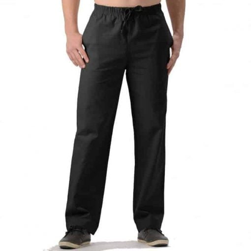 Mens Hemp Drawstring Pants made in Canada