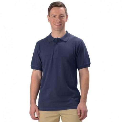 hemp polo golf shirt
