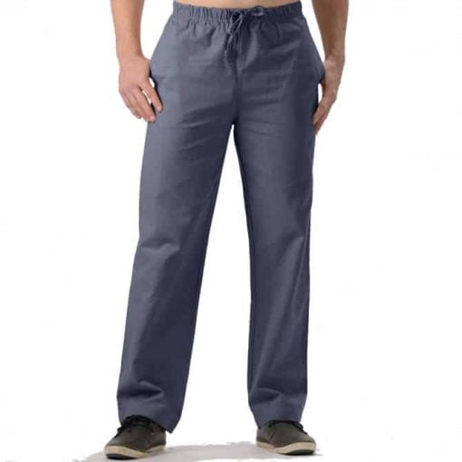 Mens Hemp Drawstring Pants