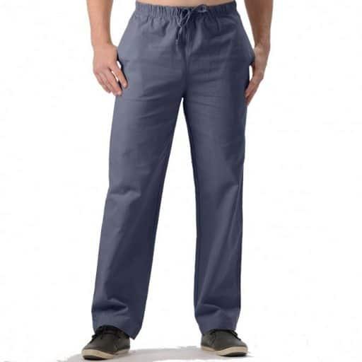 Mens Hemp Drawstring Pants