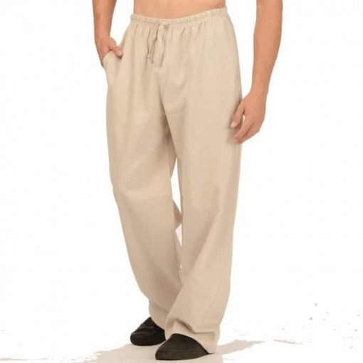 Canadian made Mens Hemp Drawstring Pants