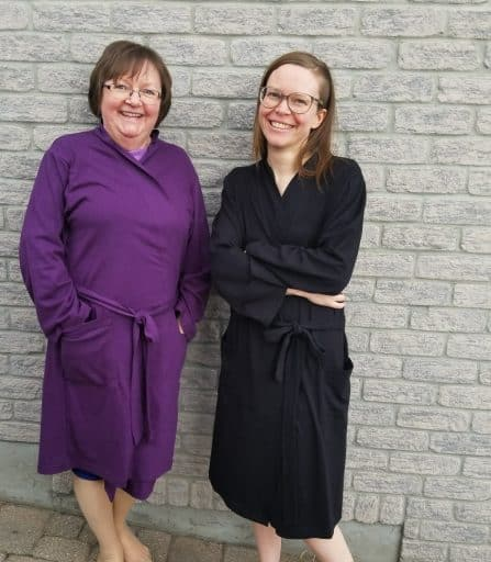 Bamboo robes made in Canada