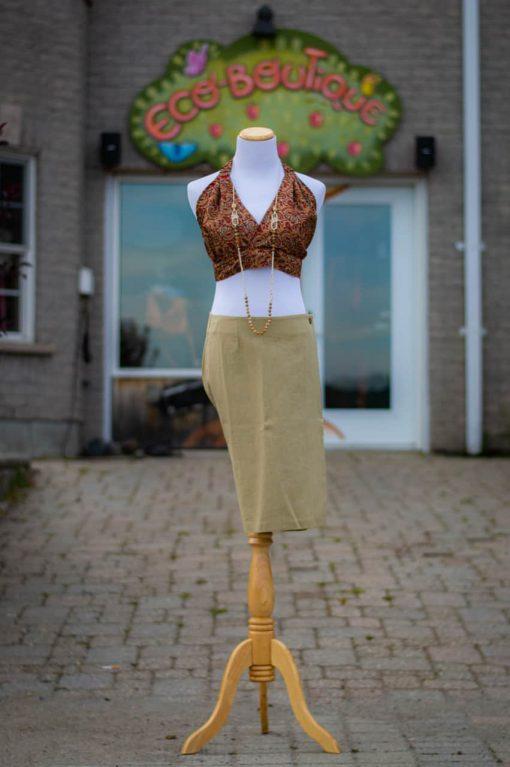 hemp skirt made in canada