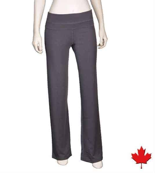 Bamboo Yoga Pants, Made In Canada