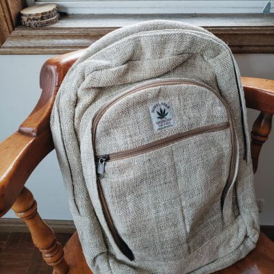 hemp backpack fair trade 100% pure hemp