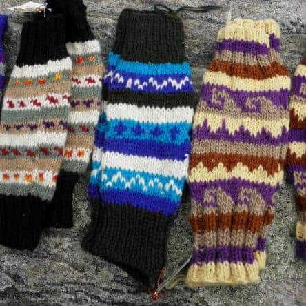 Hand Made 100% Wool Leg Warmers