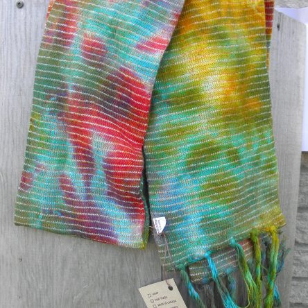 100% Cotton Fair Trade Tie Dye Scarf