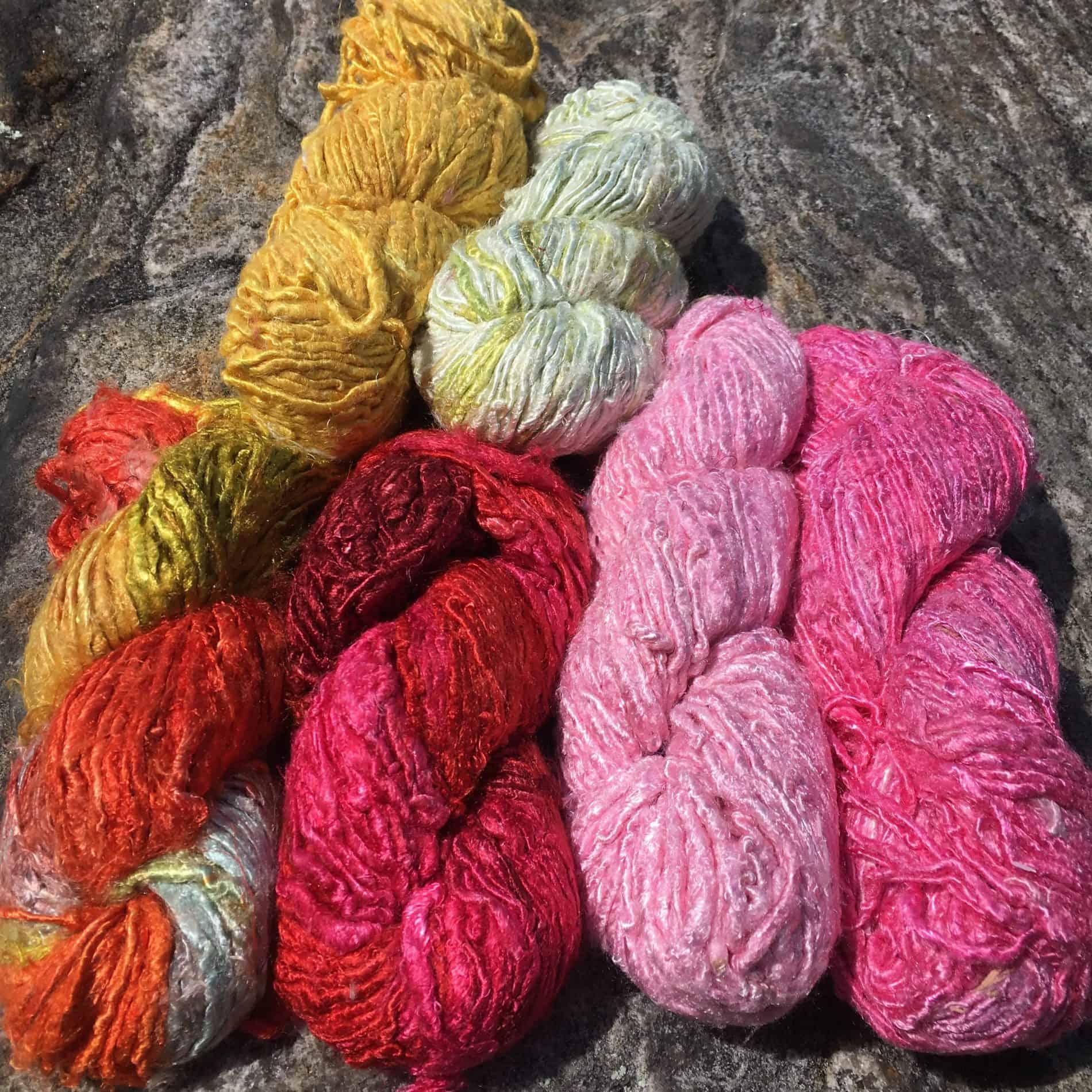 Banana fibre yarn