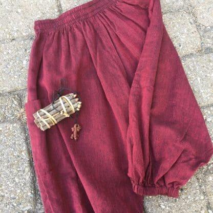 fair trade baby kids harem pants shorts