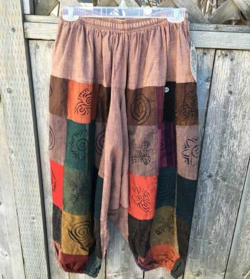 Baggy Pants Fair Trade Patchwork Harem Pants
