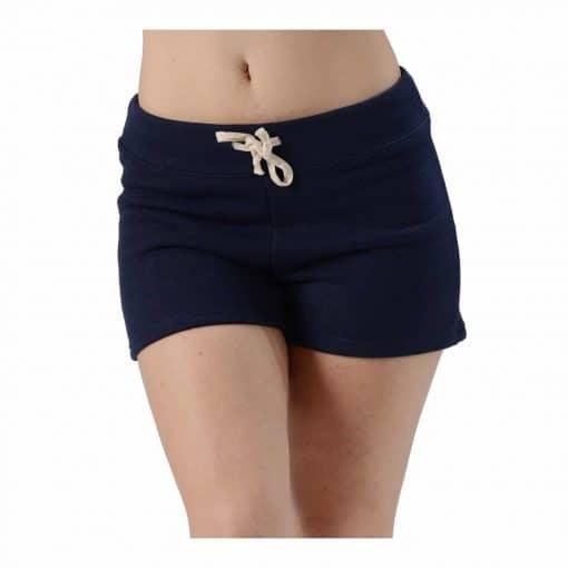 navy hemp shorts
