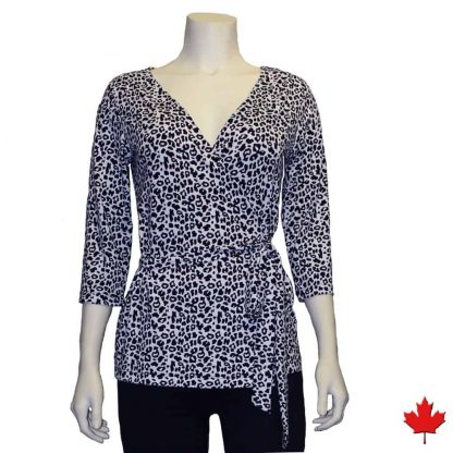 Canadian made bamboo wrap top