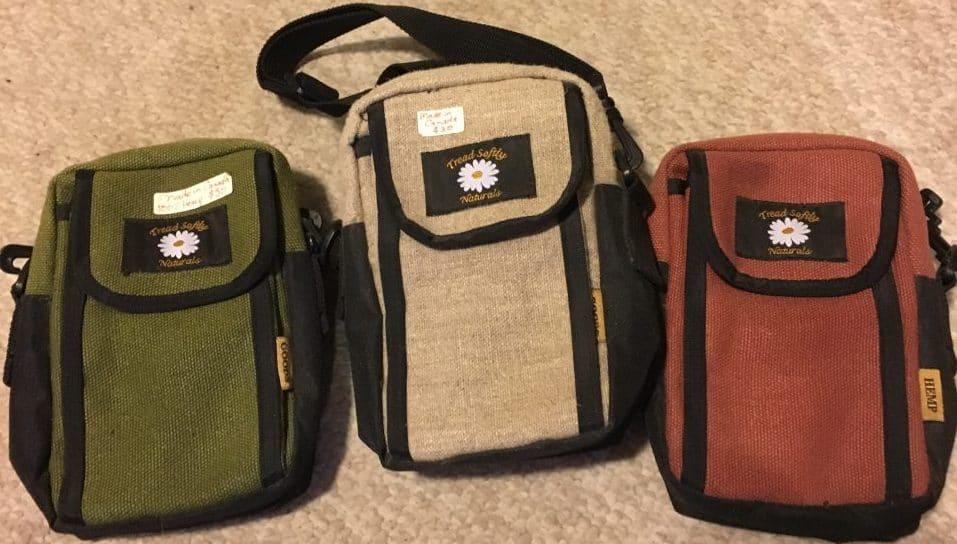 hemp passport bag made in Canada