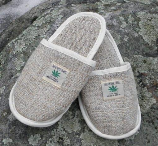 hemp slippers