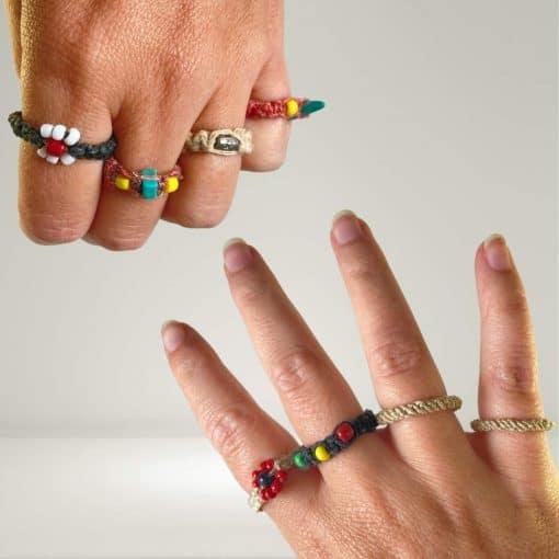 fair trade hemp ring