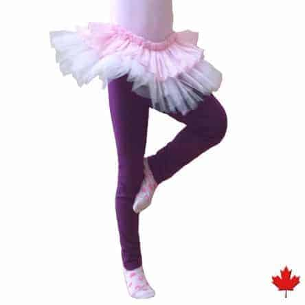 Kids Bamboo Leggings made in Canada
