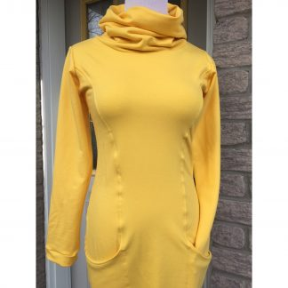 yellow bamboo tunic sweater