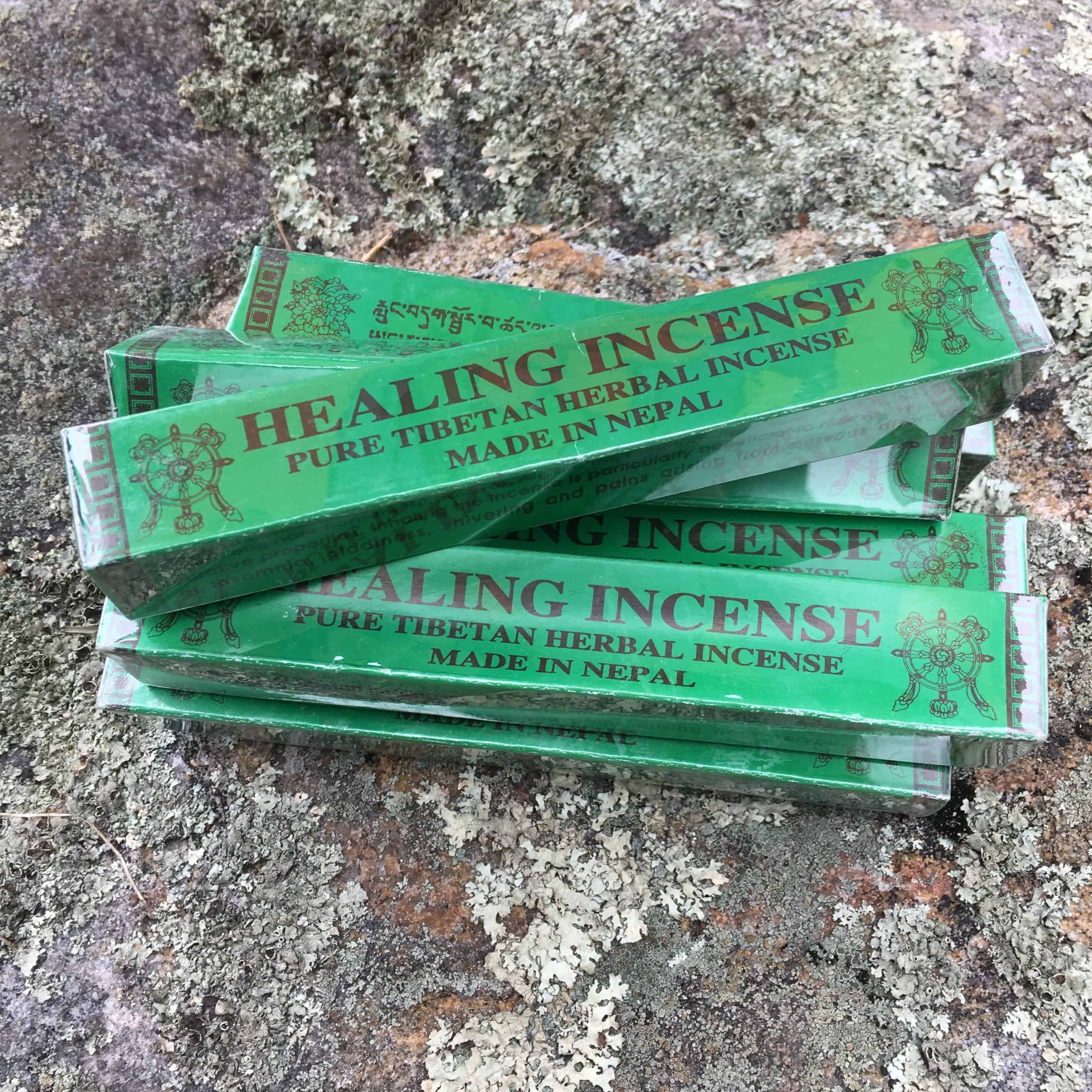 Tibetan green incense