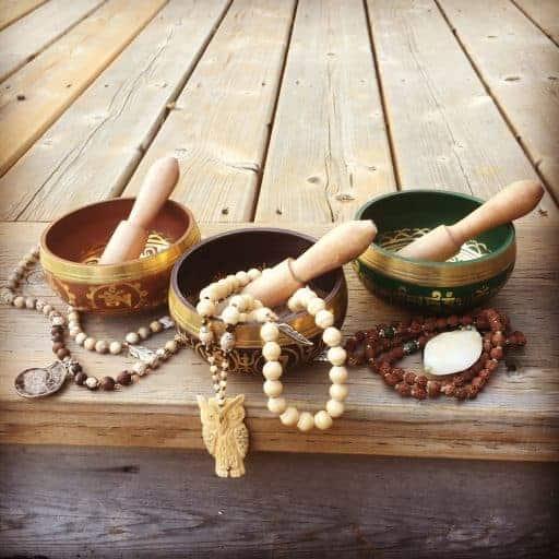Fair trade Tibetan singing bowls