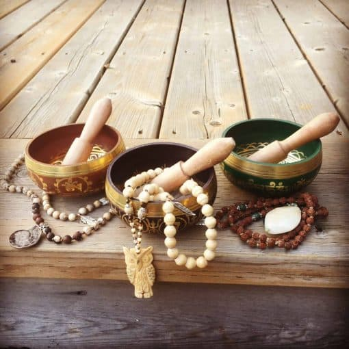 Fair trade Tibetan singing bowls