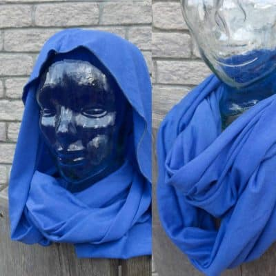 bamboo infinity scarf handmade hooded scarf