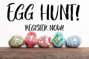 Coupon egg hunt