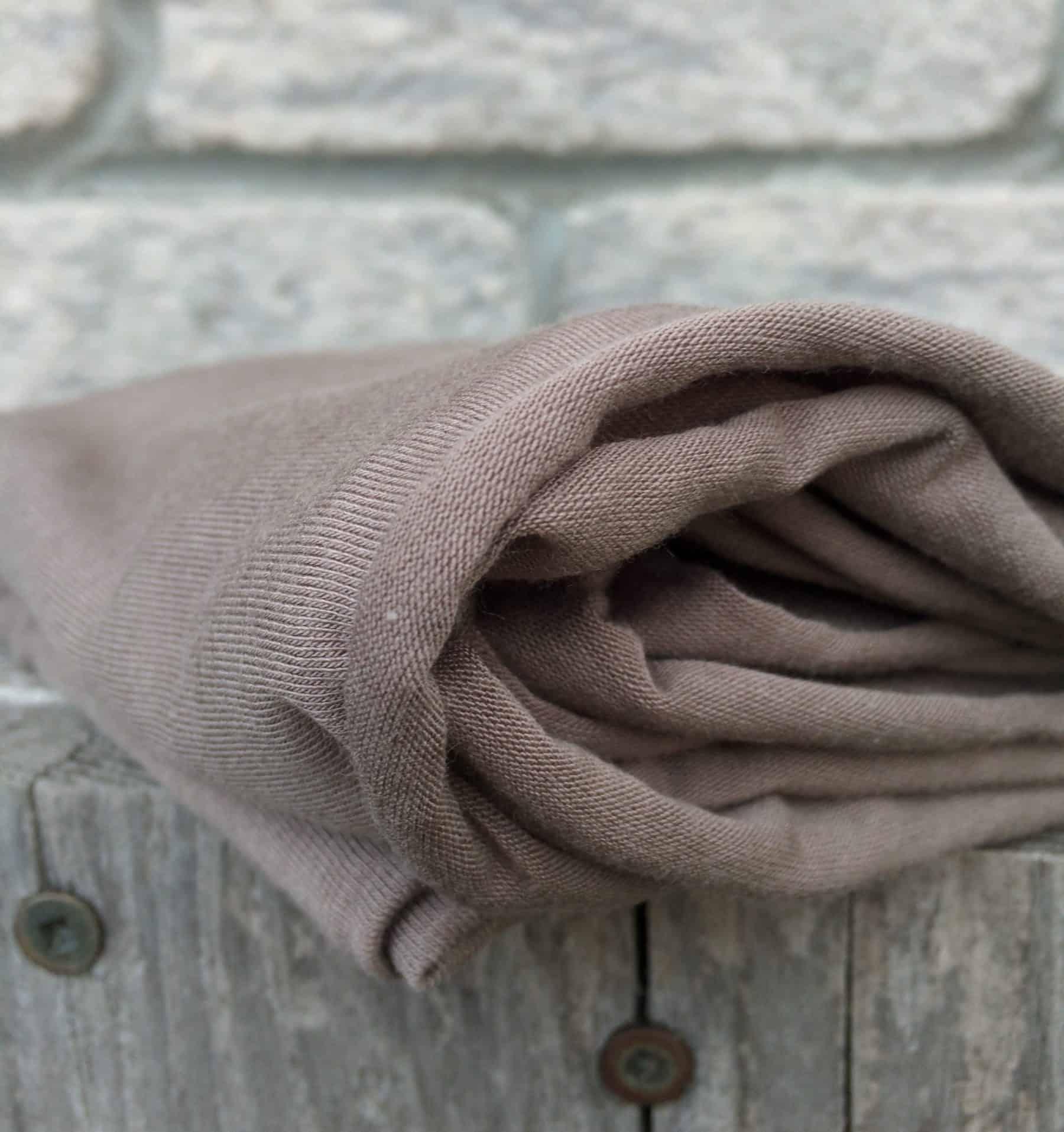 bamboo infinity hooded driftwood grey