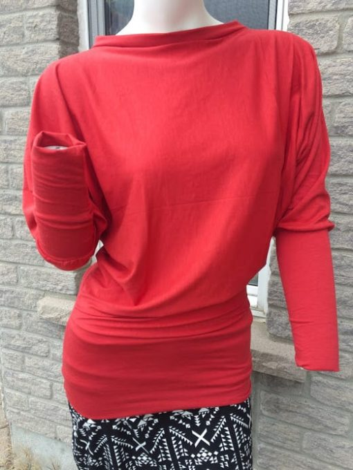 bamboo blouse made in canada