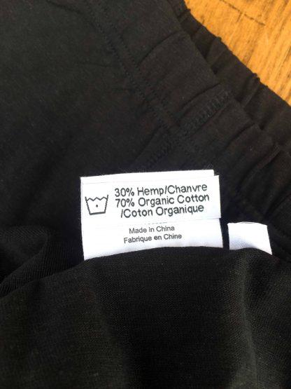 Canadian hemp clothing label organic cotton hemp boxers wholesale