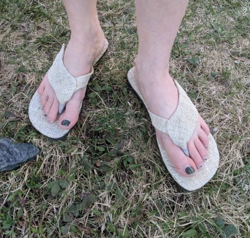 hemp sandals canada fair trade nepal