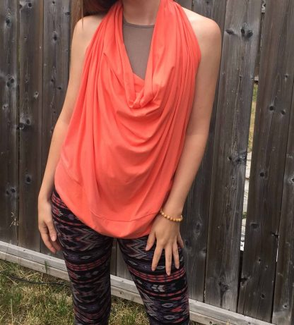 Bamboo backless top