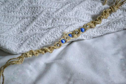 fair trade hemp jewelry bracelet