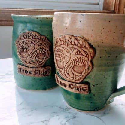 Tree Coffee Cup Local Parry Sound Pottery