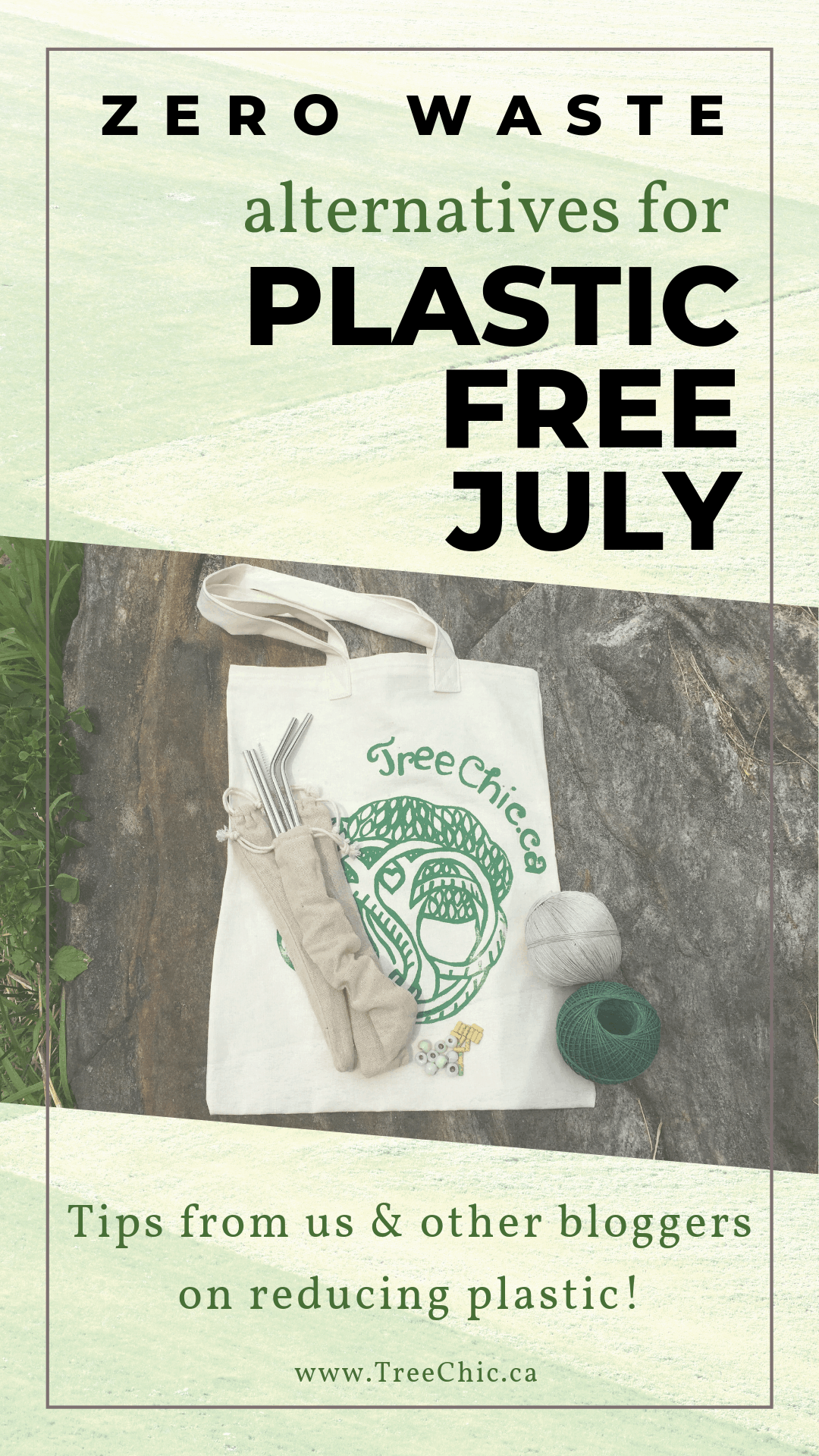 Tips from Tree Chic & other bloggers on reducing plastic!