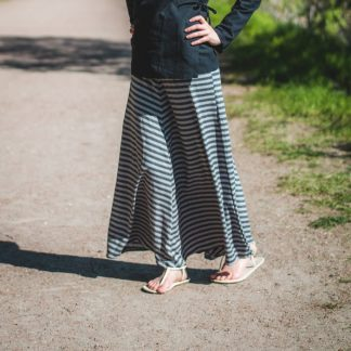 hemp maxi skirt made in canada