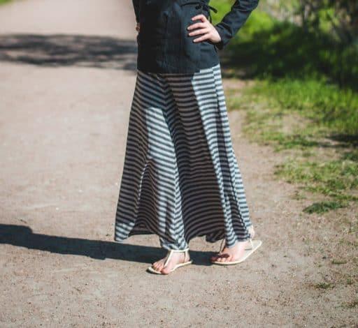 hemp maxi skirt made in canada