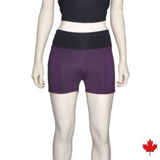 bamboo yoga shorts