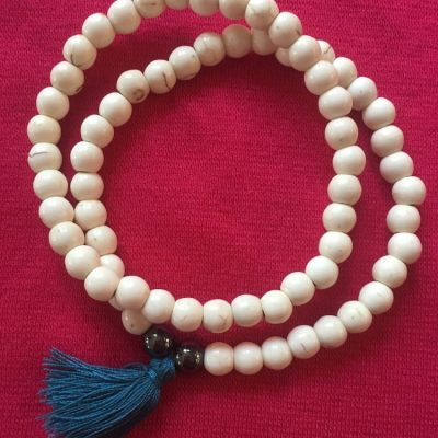 howlite bracelet set fair trade beaded tassel bracelets