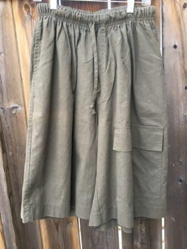 Hemp shorts made in Canada